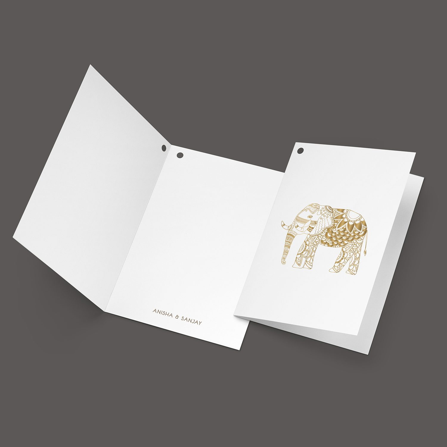 Elephant Note Tag Mockup