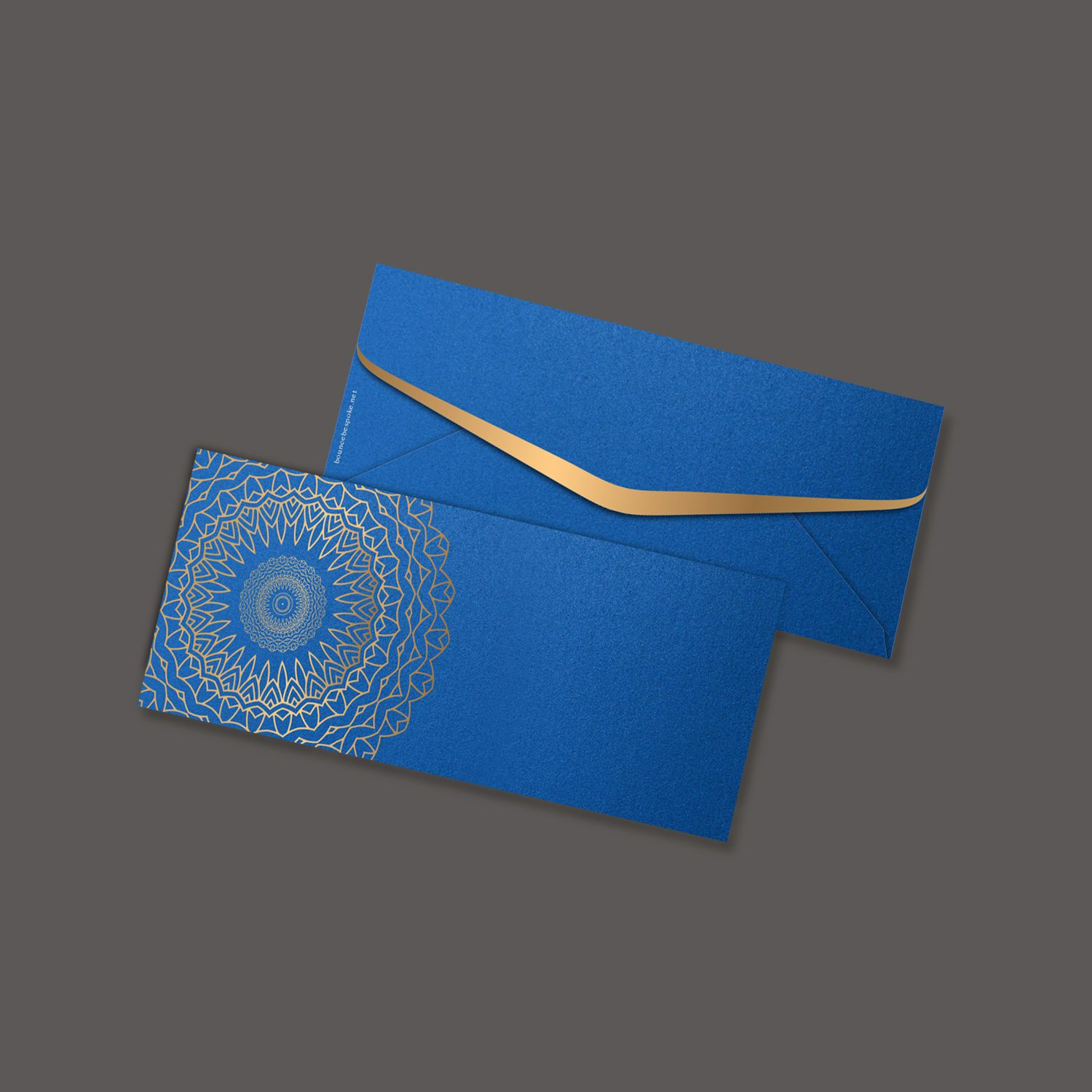 Floral Ripple Blue Gift Envelope