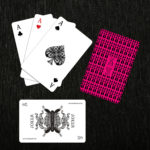 Set of 3 Cards Monogrammed inside
